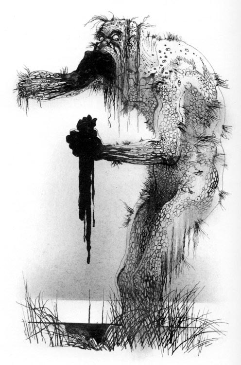 The black and white of grendel