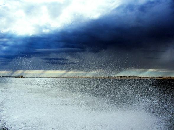 Rainy Day on Folsom Lake