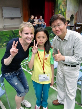 Me with Wei-Ming and his niece, Tina