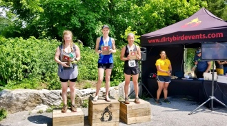 1st place age group at the XTERRA trail race